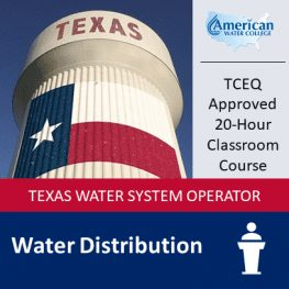 TX Water Distribution Classroom