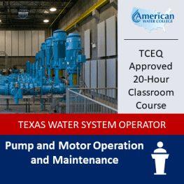 TX Pump & Motor Classroom