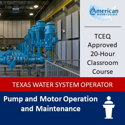 Pump and Motor Maintenance (0396) | Classroom