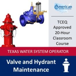 TX Valve & Hydrant Maintenance Classroom