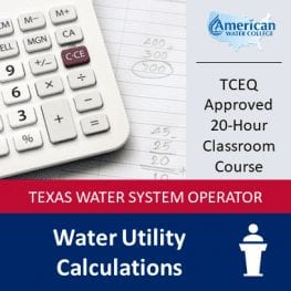 TX Water Calculations Classroom