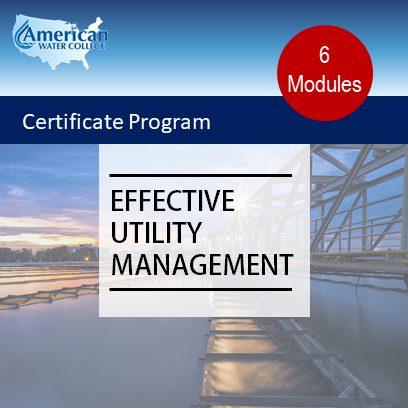 Effective Utility Management Certificate