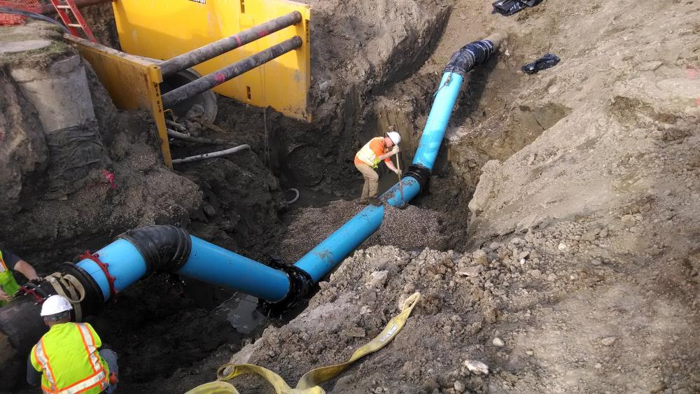 Water Main Installation American Water College
