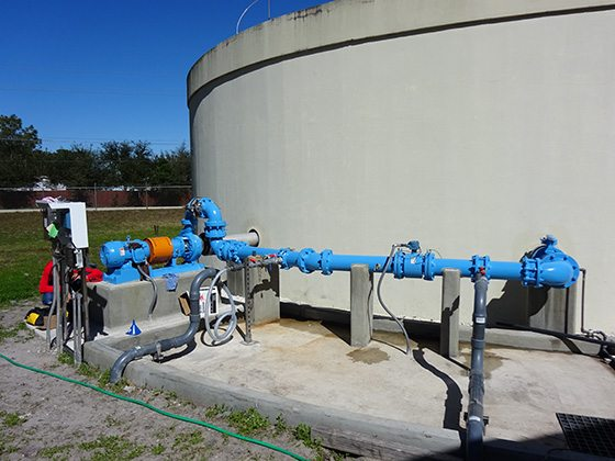 Water Treatment Chemical Blending