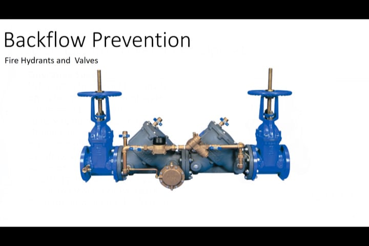 Water Distribution | Backflow Prevention