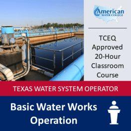 TX Basic Water Classroom