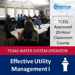 TX Effective Utility Management
