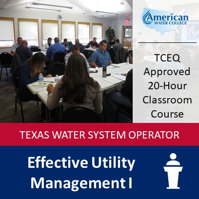 Effective Utility Management I (1451) | Classroom