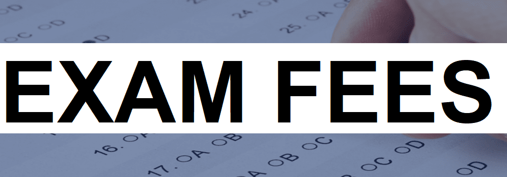 State Exam Information | California Treatment and Distribution Exam Fees