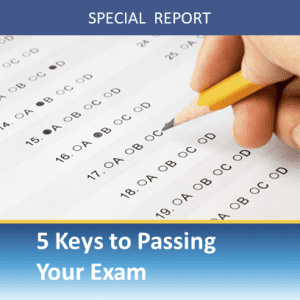 5 Keys to Passing Your Exam