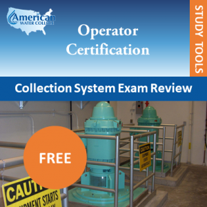 Free Study Tools - Wastewater Collections