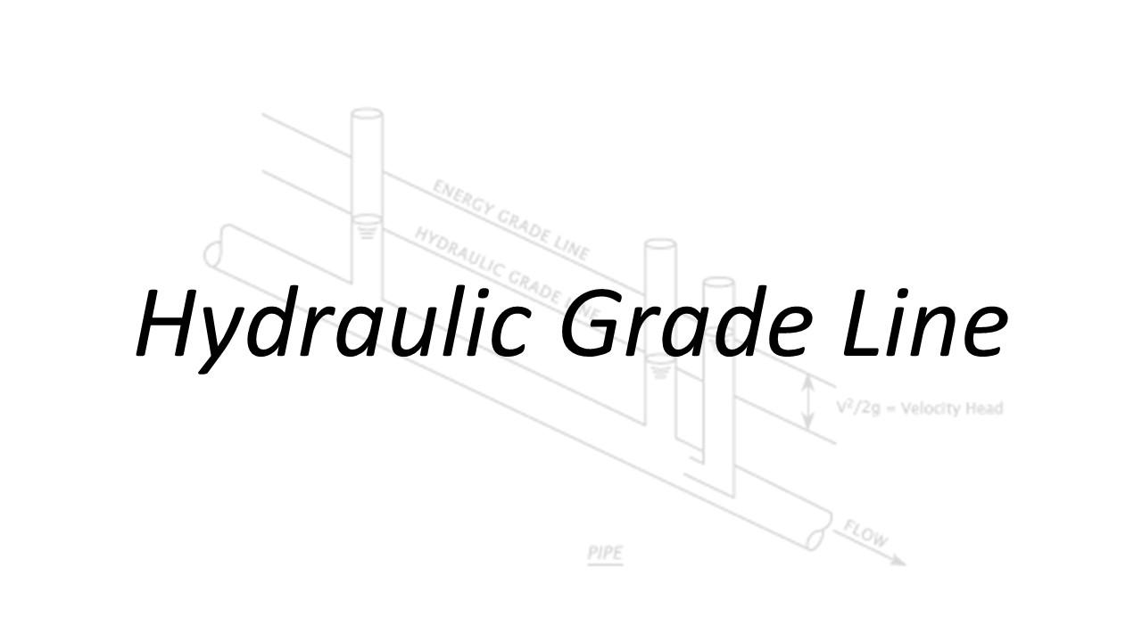 Applied Hydraulics | Hydraulic Grade Line