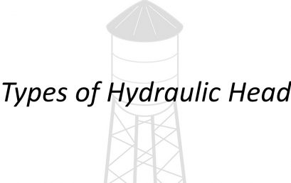 Applied Hydraulics | Types of Hydraulic Head