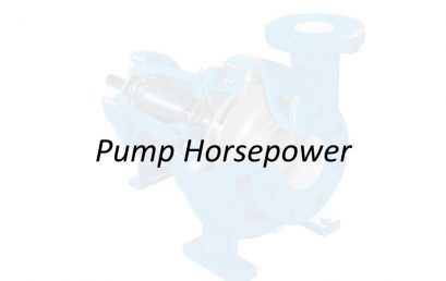 Applied Hydraulics | Pump Horsepower