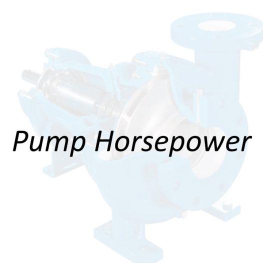 Applied Hydraulics   Pump Horsepower